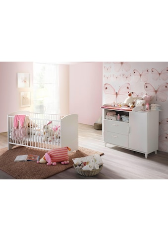 rauch BLUE Babymöbel-Set »Nizza«, (Spar-Set, 2 St.), Bett + Wickelkommode kaufen