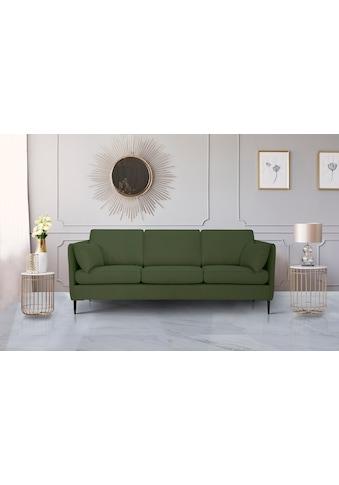 Leonique 3-Sitzer »Light«, inklusive loser Zierkissen, mit schmalen Armlehnen und... kaufen
