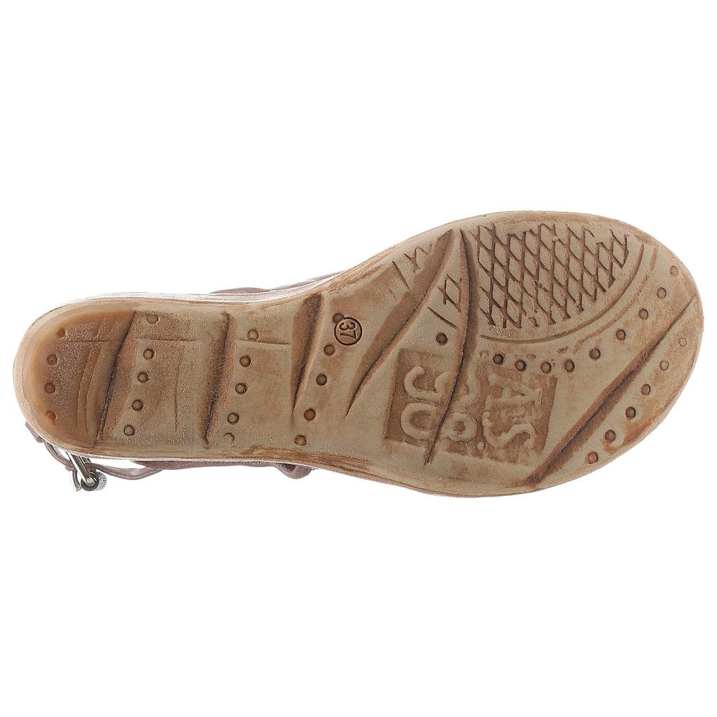 A.S.98 Sandalette, mit biegsamem Draht im Schaftrand