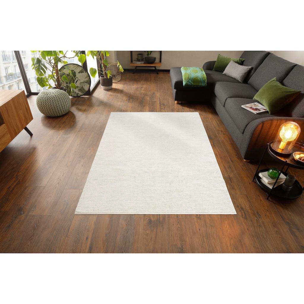 Home affaire Collection Teppich »Thees«, rechteckig, 9 mm Höhe, In- und Outdoor geeignet, Wohnzimmer