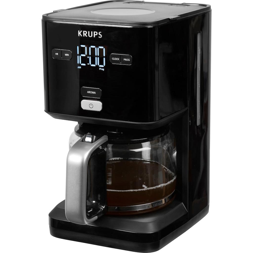 Krups Filterkaffeemaschine »Smart'n Light KM6008«, 24-Stunden-Timer; Automatische Abschaltung; Digital-Display