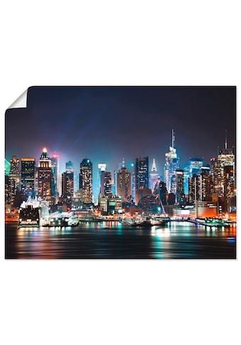 Artland Wandbild »New York City Times Square«, Amerika, (1 St.), in vielen Größen &... kaufen