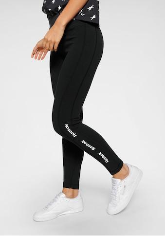 Reebok Leggings »TE Linear Logo CT L« kaufen
