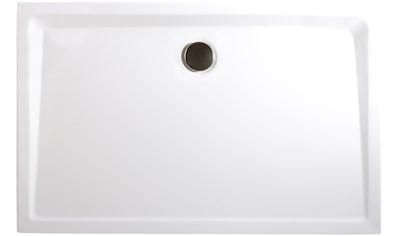 SCHULTE Set: Duschwanne »extra - flach«, rechteckig, verschiedene Maße kaufen