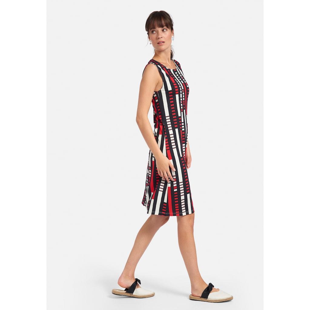 Peter Hahn Jerseykleid »Kleid«, mit Allover Muster