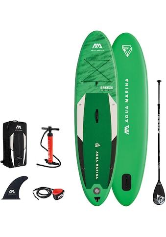 Aqua Marina SUP-Board »Breeze iSUP BT-21BRP«, (Set, 6 tlg., mit Paddel, Pumpe und... kaufen