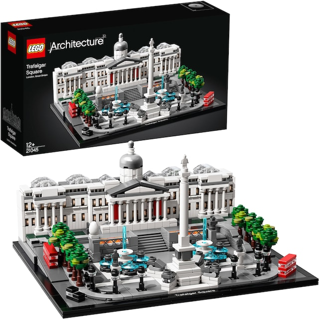 "LEGO® Konstruktionsspielsteine ""Trafalgar Square (21045), LEGO® Architecture"", Kunststoff, (1197-tlg.)"