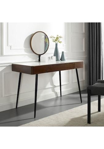 Leonique Schminktisch »Sarina«, Konsole, Schreibtisch, Keramiktischplatte in... kaufen
