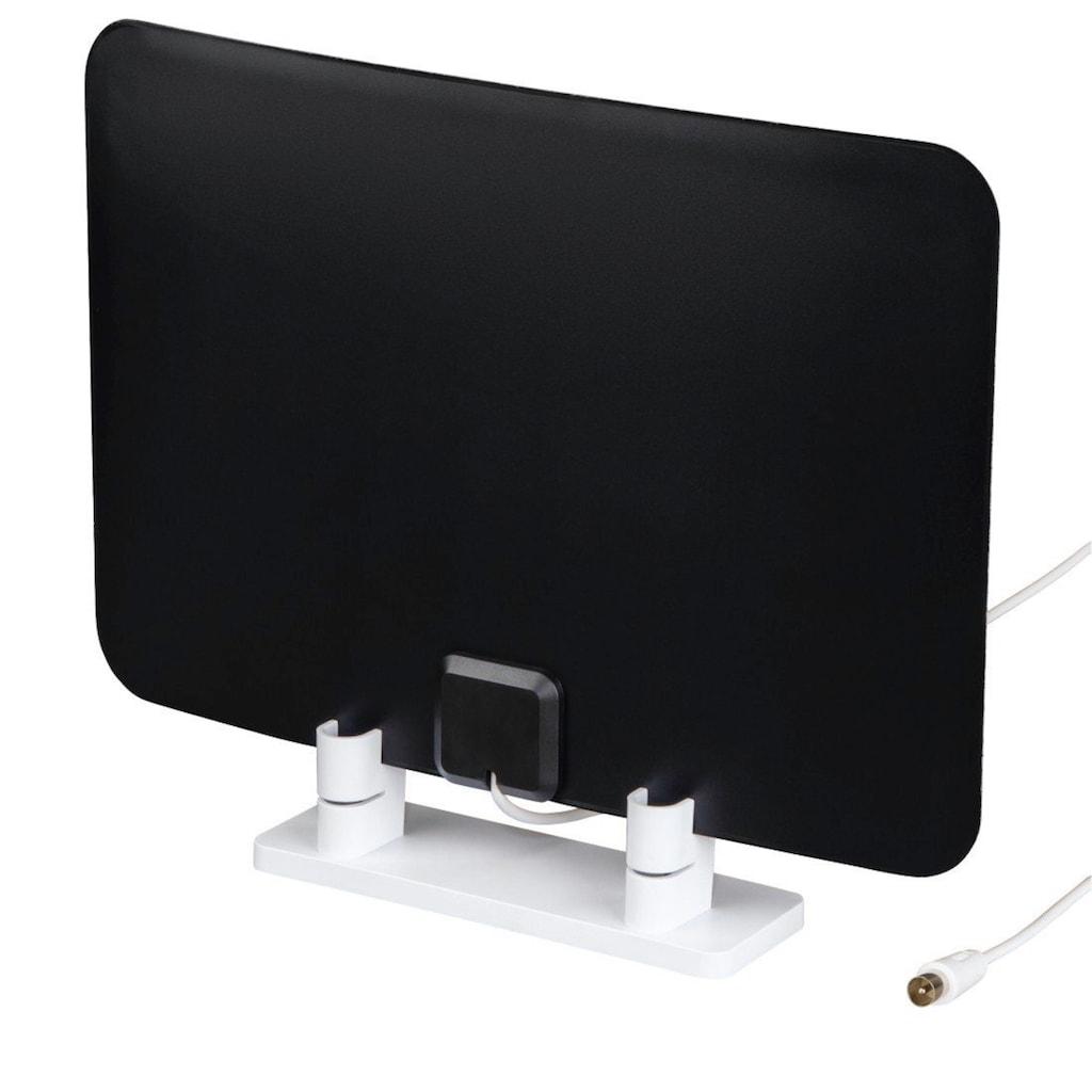 Hama DVB-T2 Zimmerantenne, TV/Radio Flachantenne, DAB+/passiv