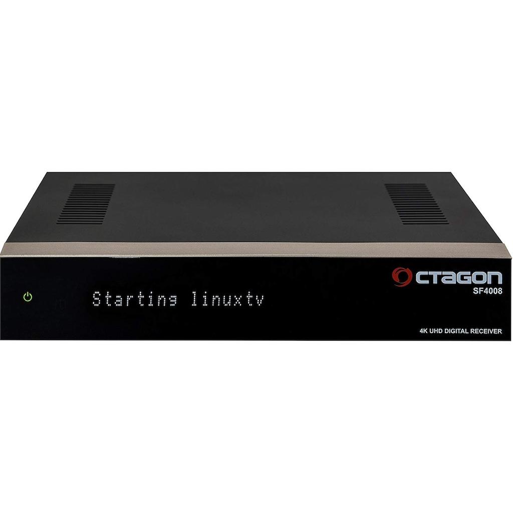 OCTAGON 4K UHD 2106p E2 Receiver Enigma2 Linux OS