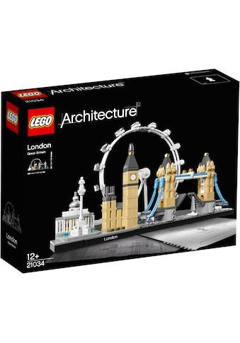 """LEGO® Konstruktionsspielsteine """"London (21034), LEGO® Architecture"""", (468 - tlg.) kaufen"""