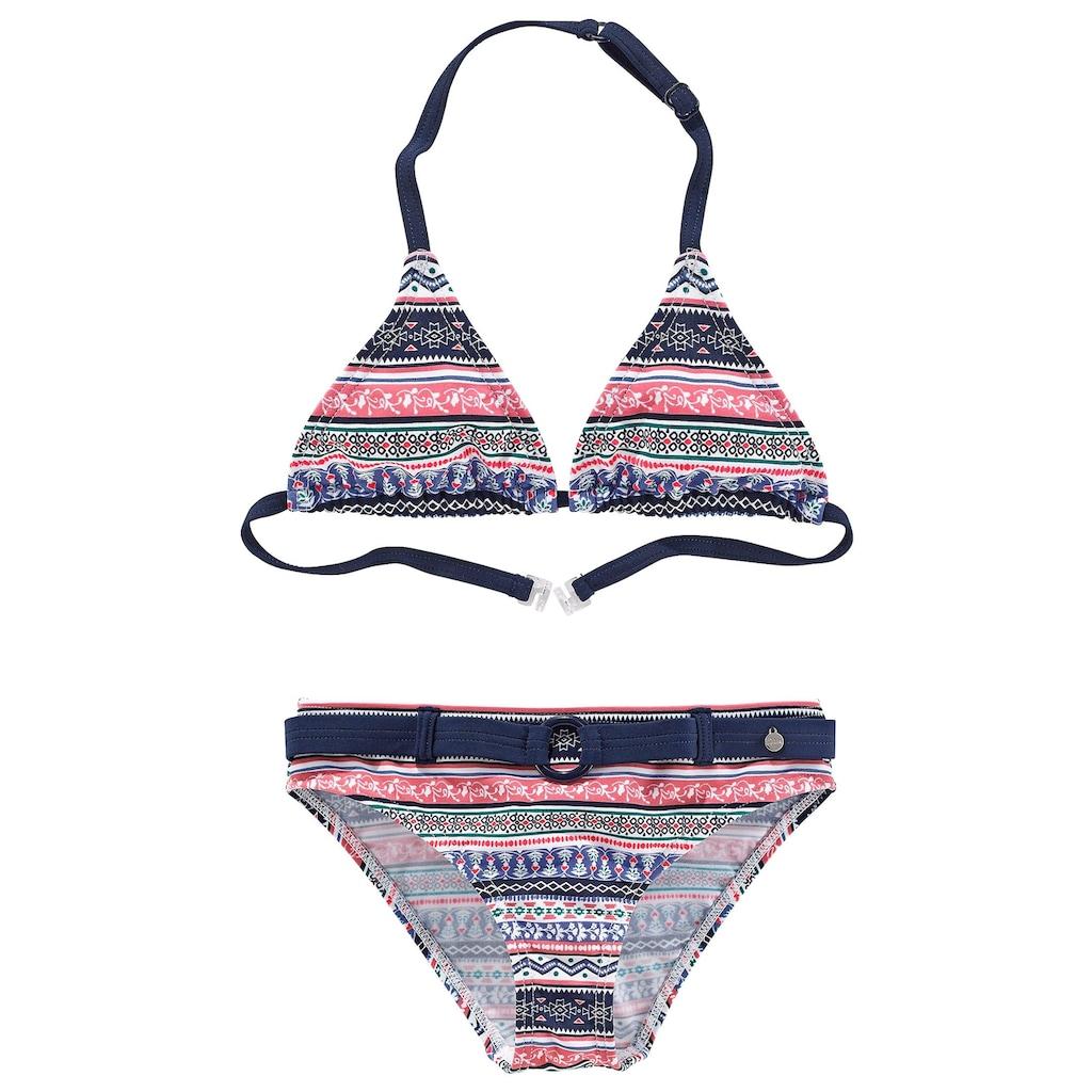 s.Oliver Triangel-Bikini, im frechen Streifen-Look