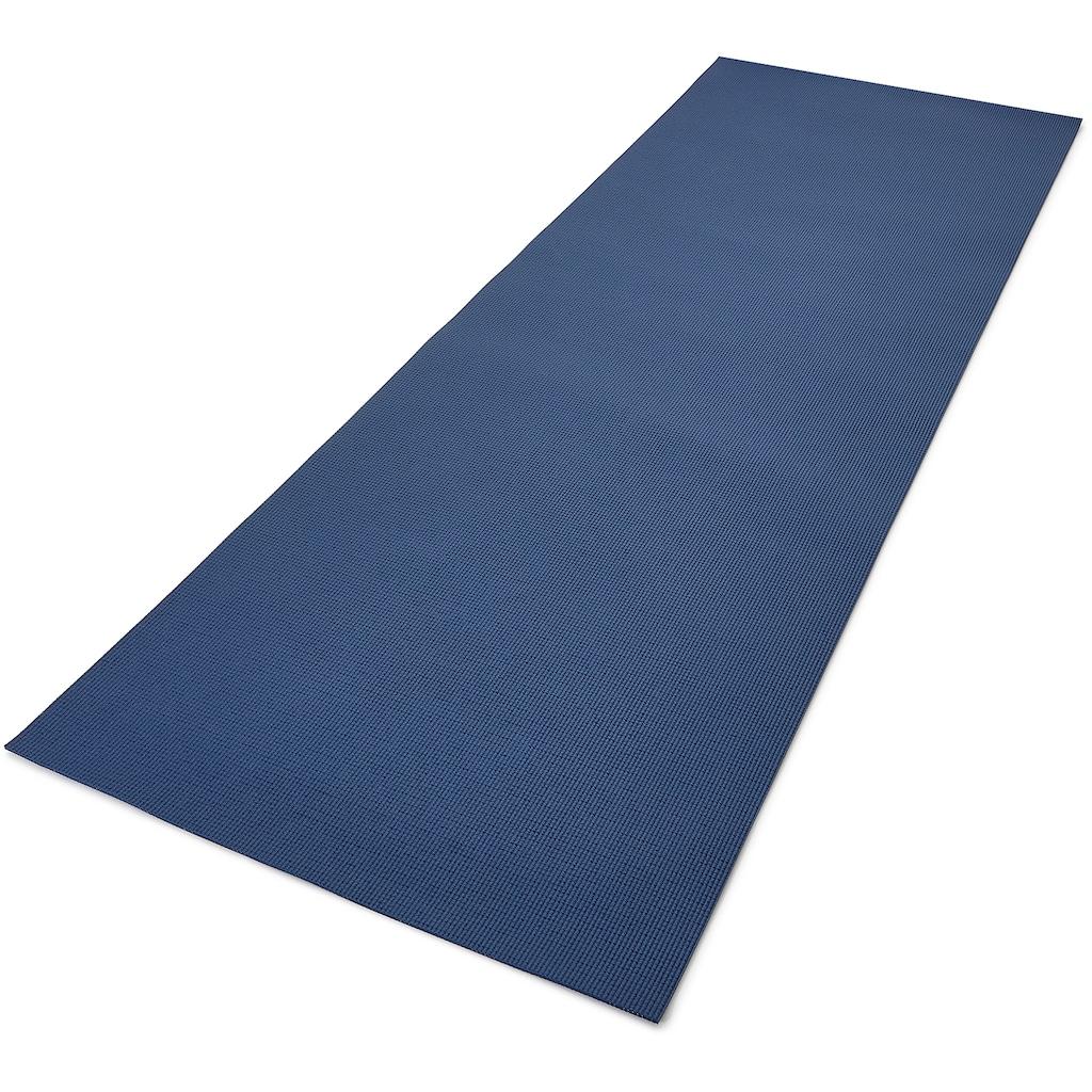 "Reebok Yogamatte »Reebok Yogamatte ""Pinselstrich-Effekt"" - beidseitig, rutschfest«"