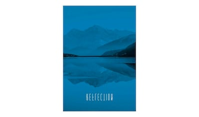 KOMAR XXL Poster »Word Lake Reflection Blue« kaufen