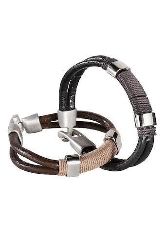 J.Jayz Armband Set »coole Optik« (Set, 2 tlg.) kaufen