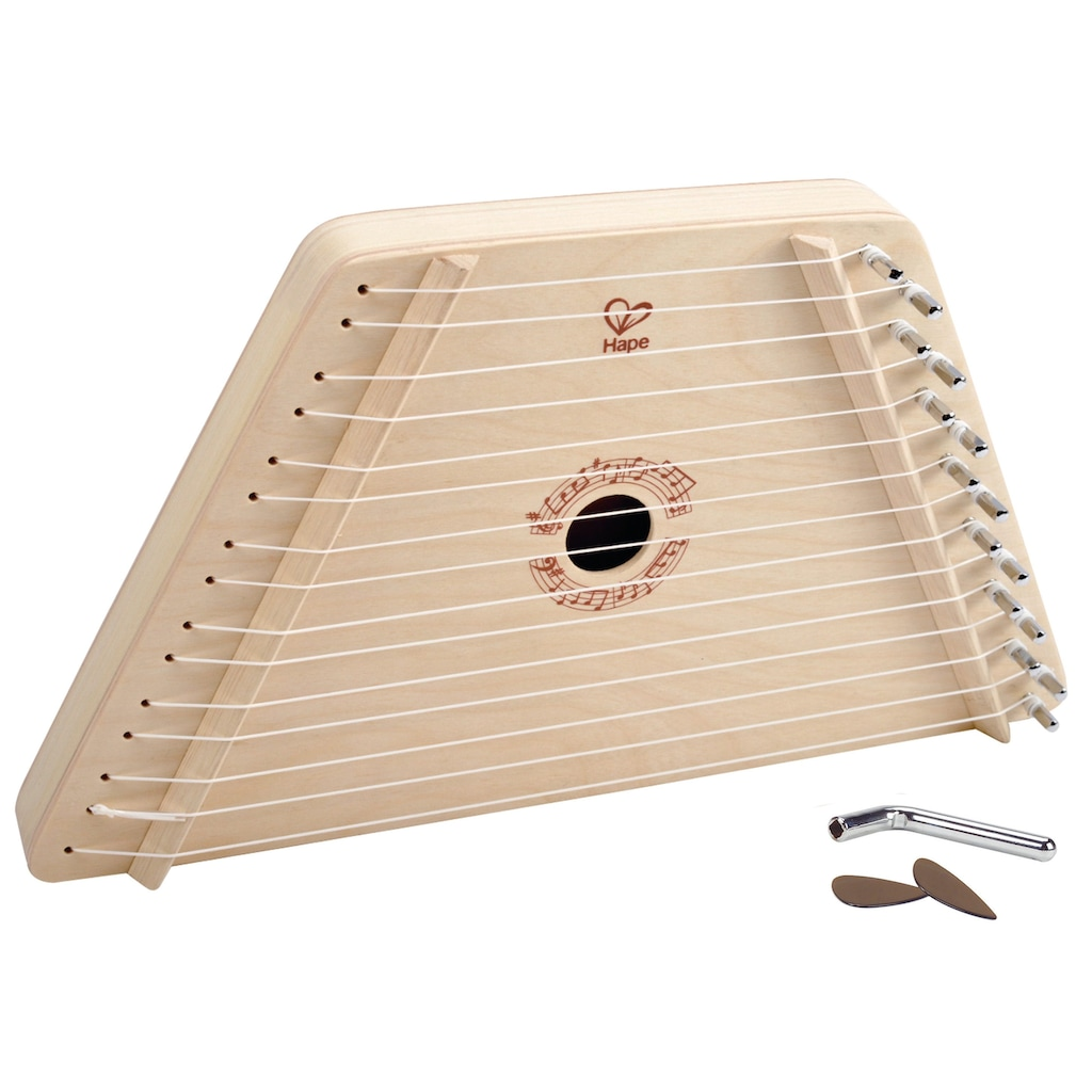 Hape Spielzeug-Musikinstrument »Singende Harfe«