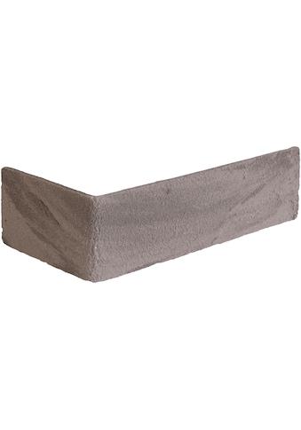 ELASTOLITH Verblender »Kreta Eckverblender«, grau, für Außen- und Innenbereich, 2 Lfm kaufen