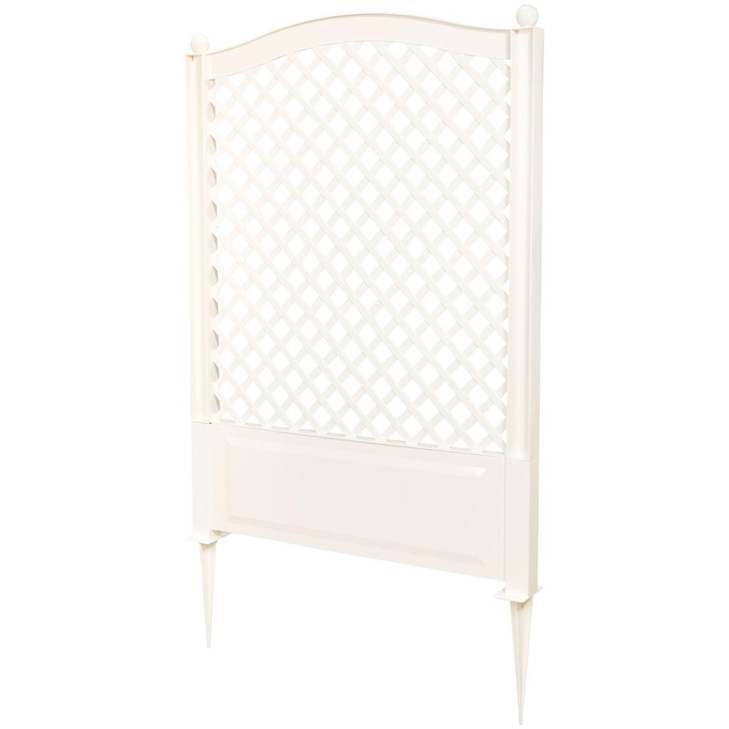KHW Spalier BxTxH: 100x6x140 cm, weiß