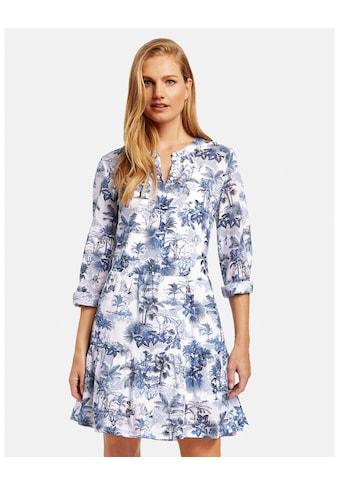 GERRY WEBER Kleid Gewebe »Kleid mit Volants organic cotton« kaufen