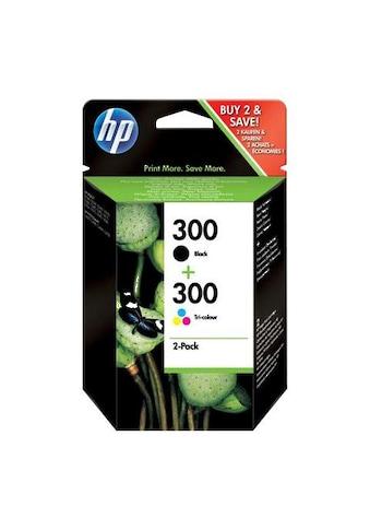 HP Tintenpatrone »hp 300 Original Kombi-Pack Schwarz, Cyan, Magenta, Gelb - CN637EE -« kaufen
