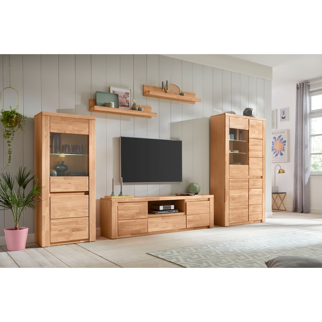 Premium collection by Home affaire Wandregal »Burani«, (Set, 2), teilmassiv