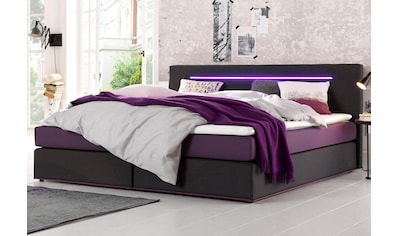 COLLECTION AB Boxspringbett, inkl. LED-Beleuchtung mit Farbwechsel und Topper kaufen
