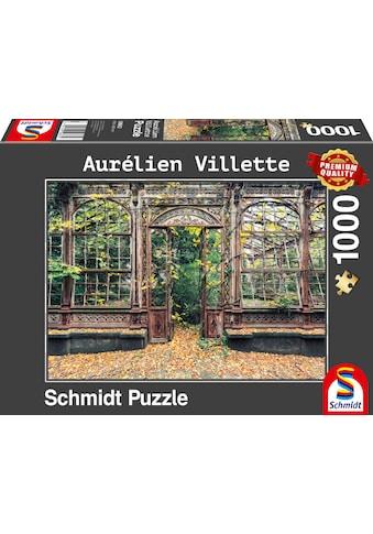 Schmidt Spiele Puzzle »Bewachsene Bogenfenster«, Aurélien Villette; Made in Europe kaufen