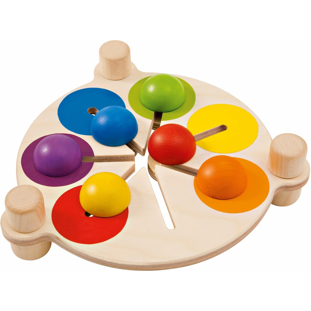 Selecta Spiel »Farbenschubser«, aus Holz, Made in Germany