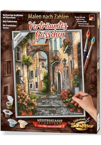 Schipper Malen nach Zahlen »Meisterklasse Klassiker - Verträumtes Gässchen«, Made in... kaufen