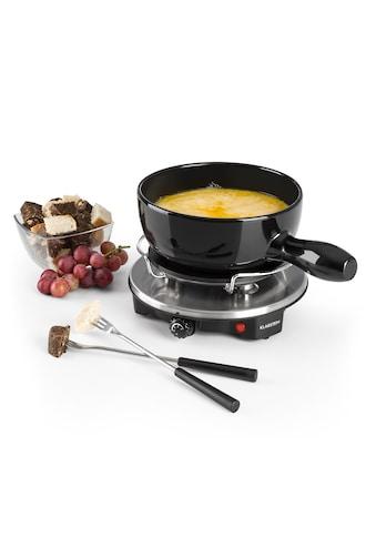 Klarstein Fondue - Set Keramiktopf Raclette 1200W Thermostat Edelstahlgabeln »Sirloin« kaufen