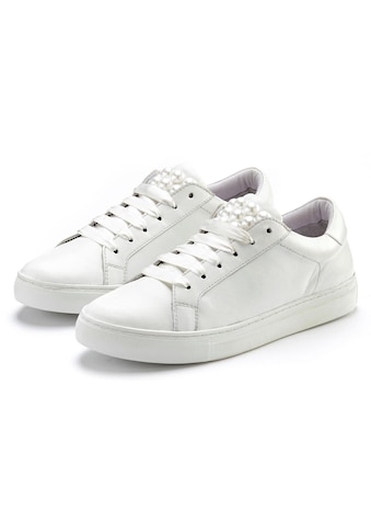 LASCANA Sneaker, mit Perlen aus Leder kaufen