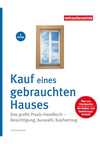 Buch »Kauf eines gebrauchten Hauses / Peter Burk, Verbraucherzentrale NRW« kaufen