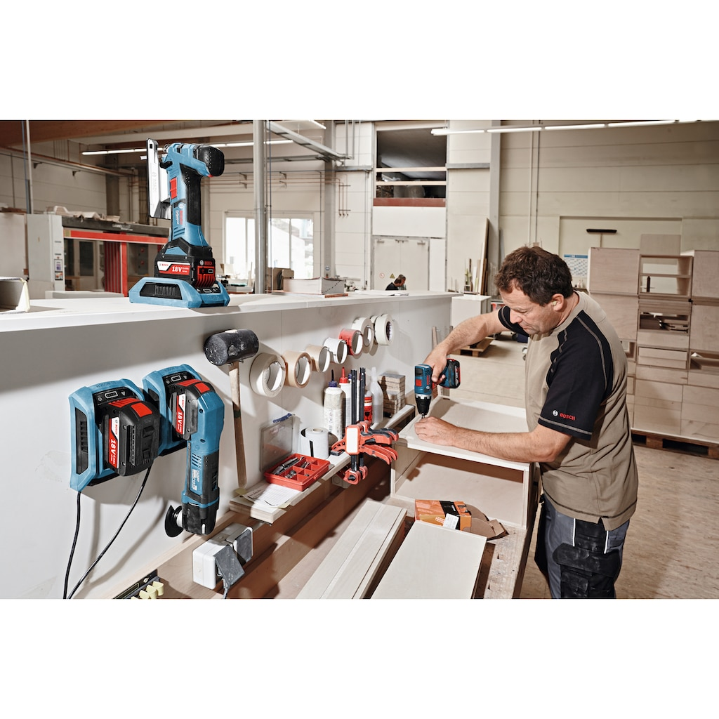Bosch Professional Akku-Stichsäge »GST 18V-LI S Pro«, ohne Akku und Ladegerät