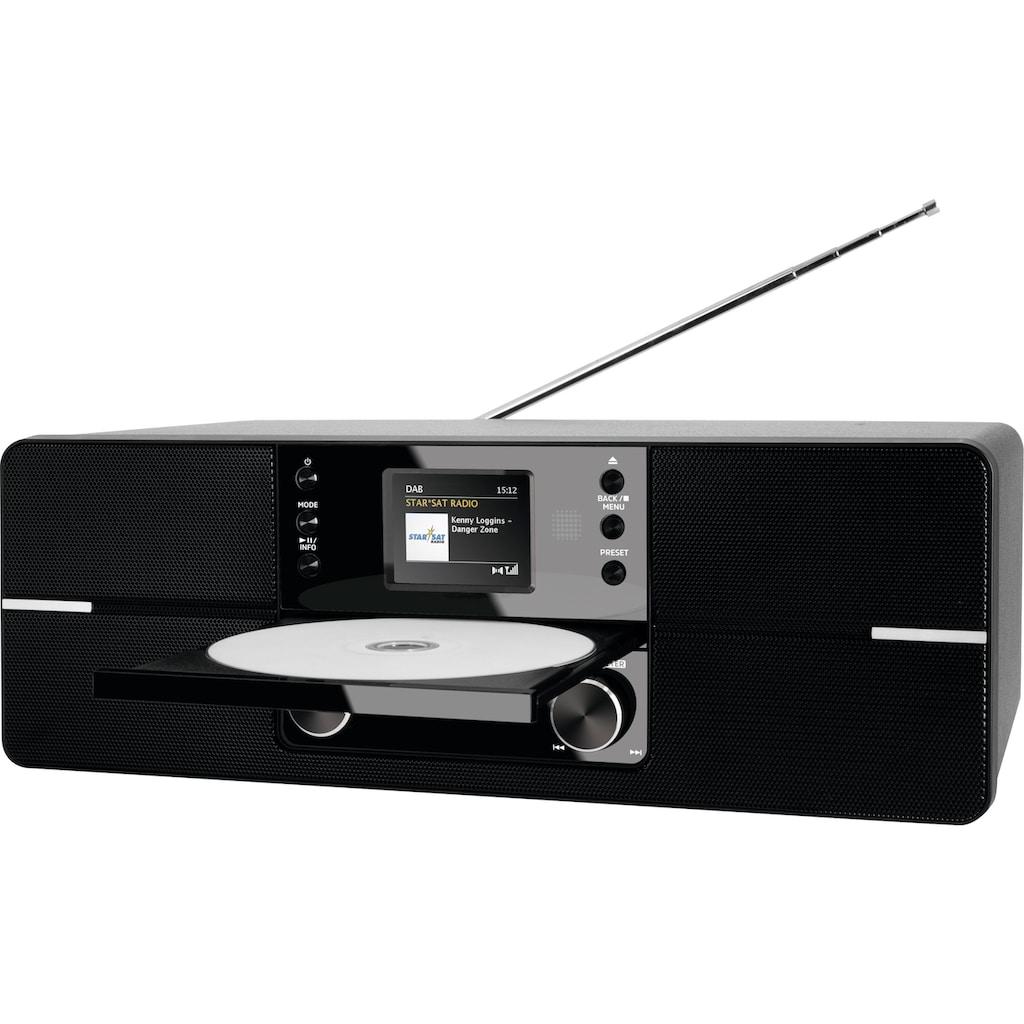 TechniSat Internet-Radio »DIGITRADIO 371 CD IR Stereo«, (Bluetooth-WLAN UKW mit RDS-Digitalradio (DAB+), mit DAB+, CD, Bluetooth, Farbdisplay, USB