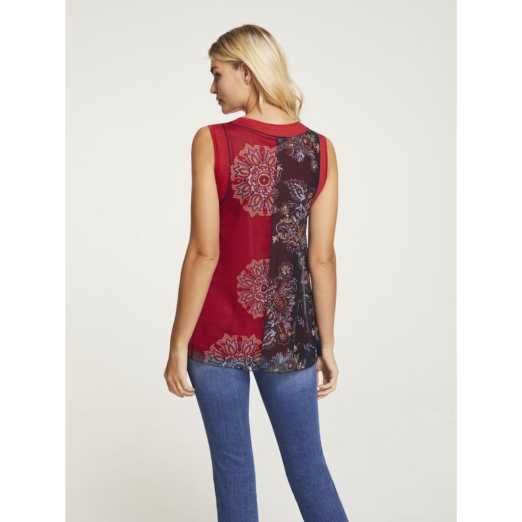 LINEA TESINI by Heine Shirttop, mit modischem Muster