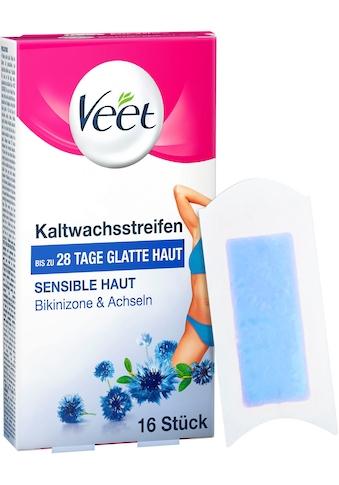 Veet Kaltwachsstreifen »Easy-Gelwax Bikinizone & Achseln«, für sensible Haut kaufen