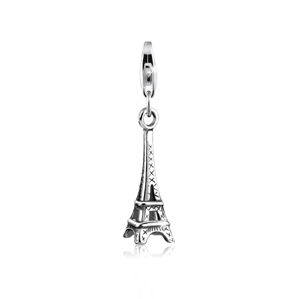 Nenalina Charm-Einhänger »Eiffelturm Anhänger Paris Reise Urlaub 925 Silber«