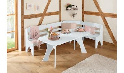 Home affaire Sitzgruppe »Torben«, (2 tlg.), im Landhausstil kaufen