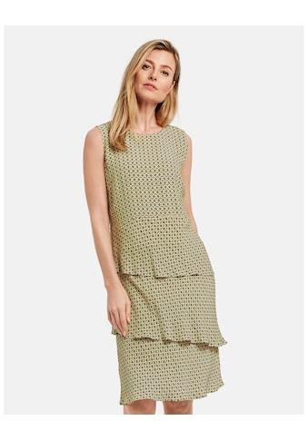 GERRY WEBER Kleid Gewebe »Gemustertes Kleid mit Stufen« kaufen