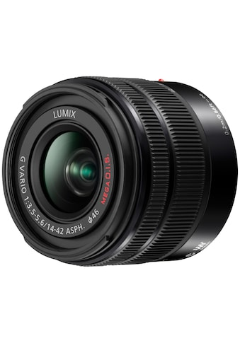 Panasonic Zoomobjektiv »H-FS1442AE-K« kaufen