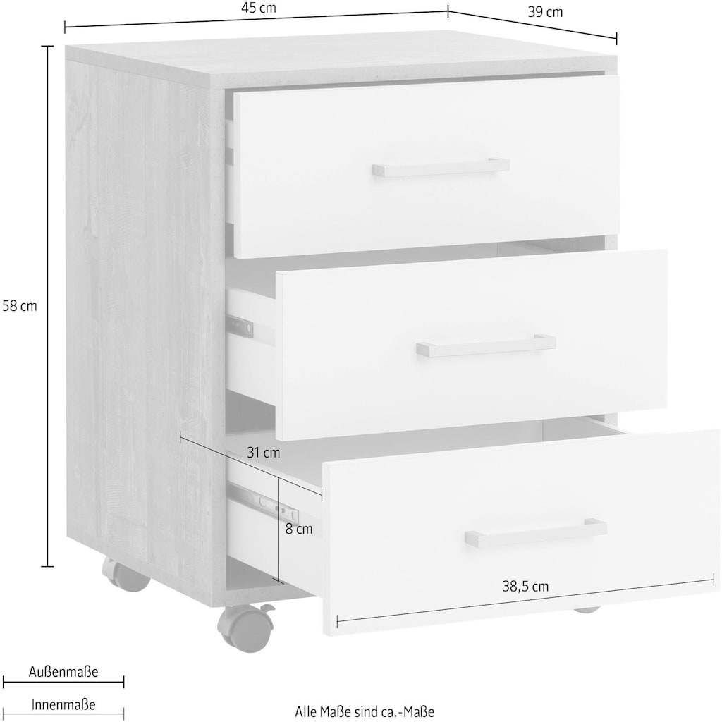 Wilmes Rollcontainer »MULTI«