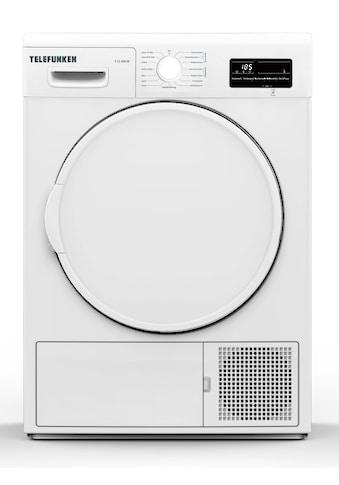 Telefunken Wärmepumpentrockner »T-12-300-W«, (7 kg /A++ / weiß) kaufen