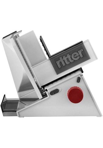 Ritter Allesschneider »contura³«, 65 W, Eco-Energiesparmotor; mit roten Bedienelementen kaufen