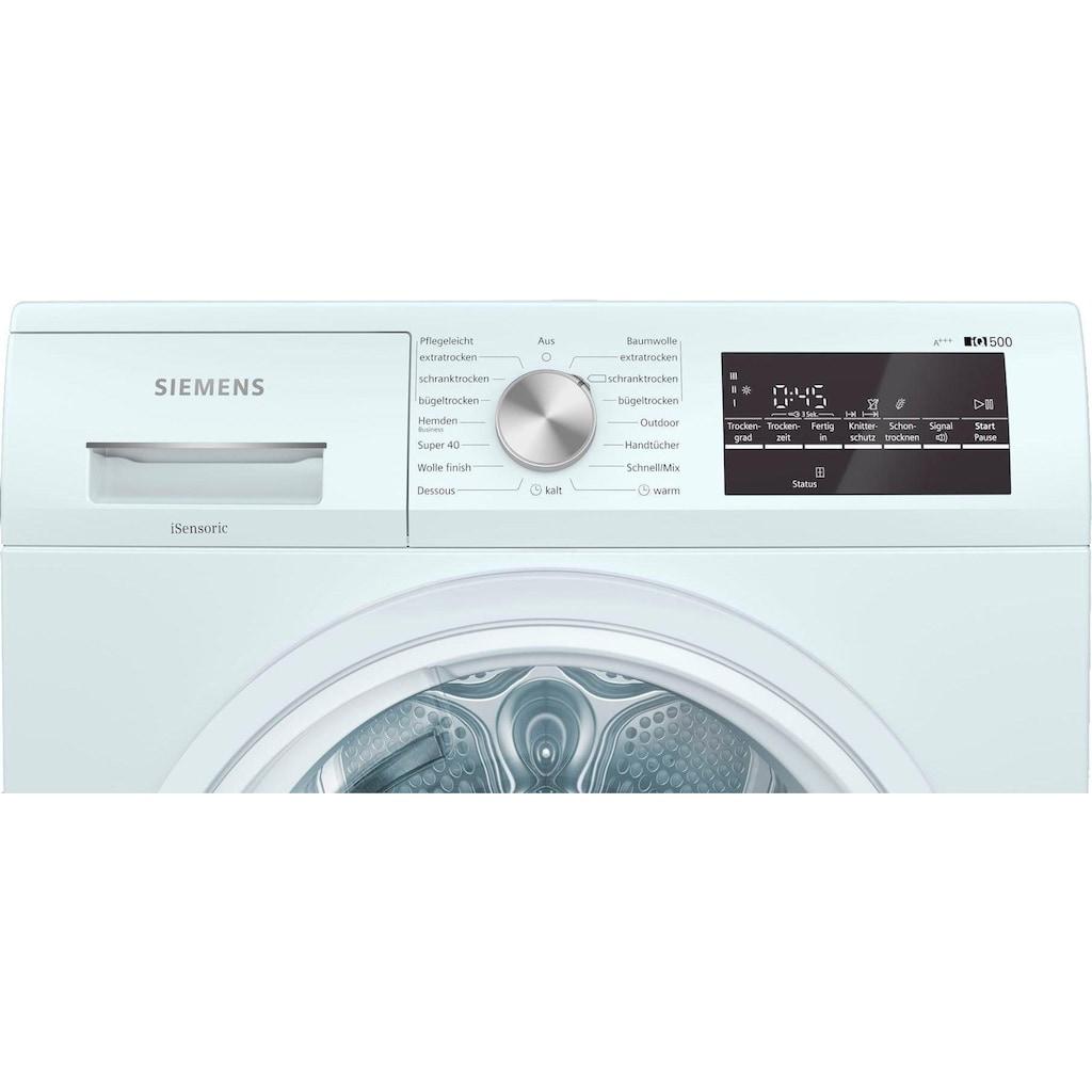 SIEMENS Wärmepumpentrockner »WT47R440«, iQ500, 8 kg