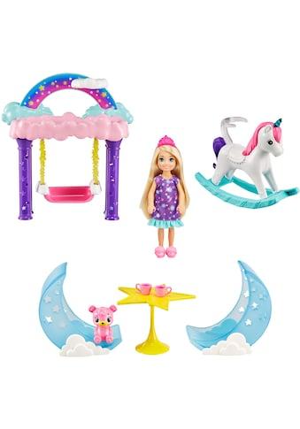 Barbie Puppenhaus »Dreamtopia, Chelsea Feen-Baumhaus-Spielset«, inkl. Chelsea-Puppe und Teddybär kaufen