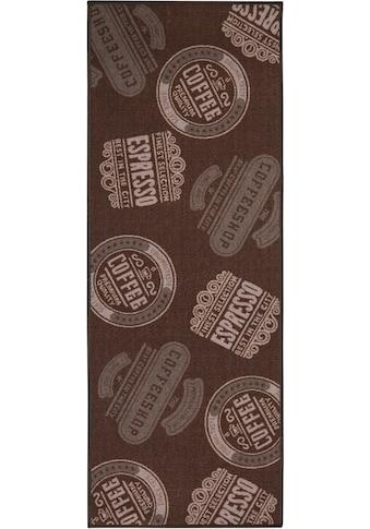 Andiamo Küchenläufer »Coffeeshop«, rechteckig, 5 mm Höhe, mit Schriftzug, Küche kaufen