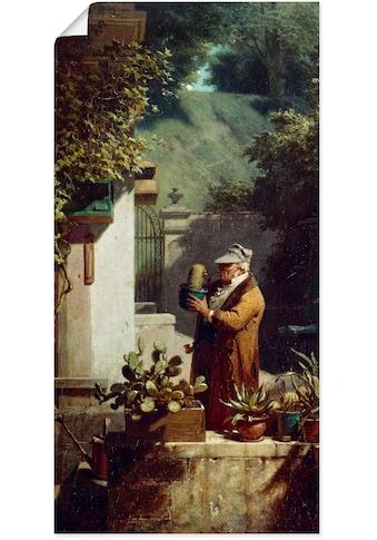 Artland Wandbild »Der Kaktusfreund. Vor 1858« kaufen
