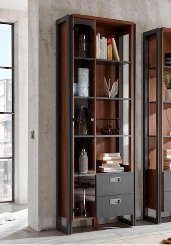 Home affaire Mehrzweckregal »Detroit«, Höhe 202 cm, im angesagten Industrial-Look kaufen