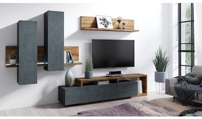 TRENDMANUFAKTUR Wohnwand »Bota« (Set, 3 - tlg) kaufen