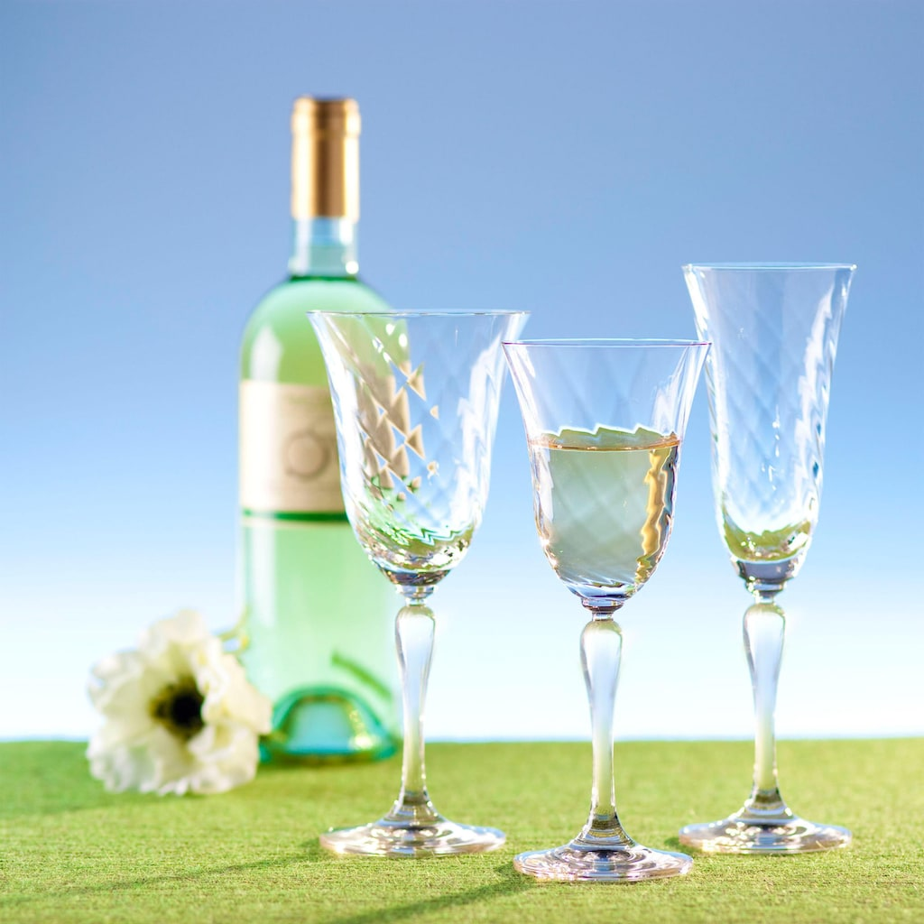 LEONARDO Weißweinglas »Volterra«, (Set, 6 tlg., 6), 6-teilig